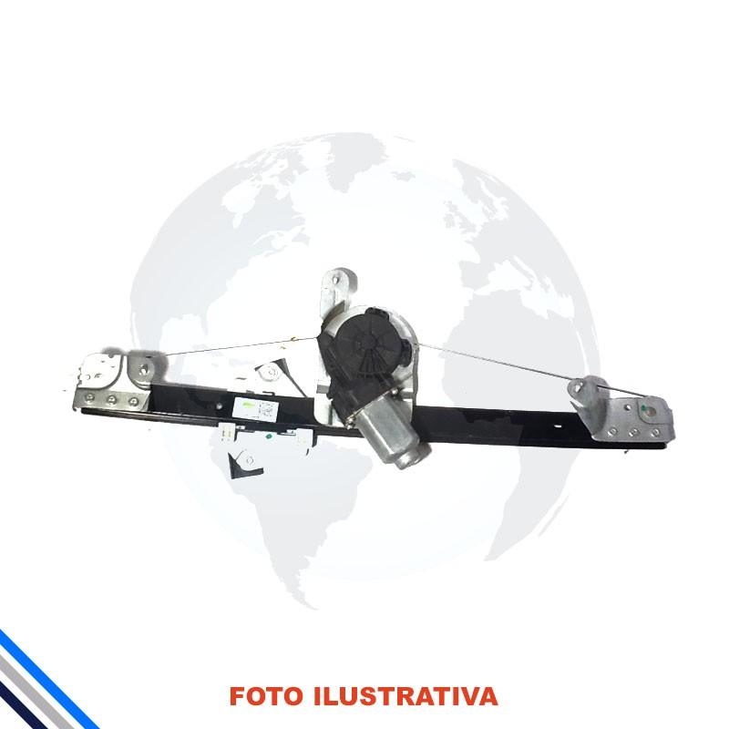 Maquina de  Vidro Porta Dianteira Direito Elétrica C/Motr Renault LOGAN 2007-2014