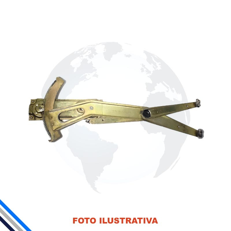 Maquina Vidro Pt Diant Dir Mec  Kadett/Ipanema 1989-1998 Original