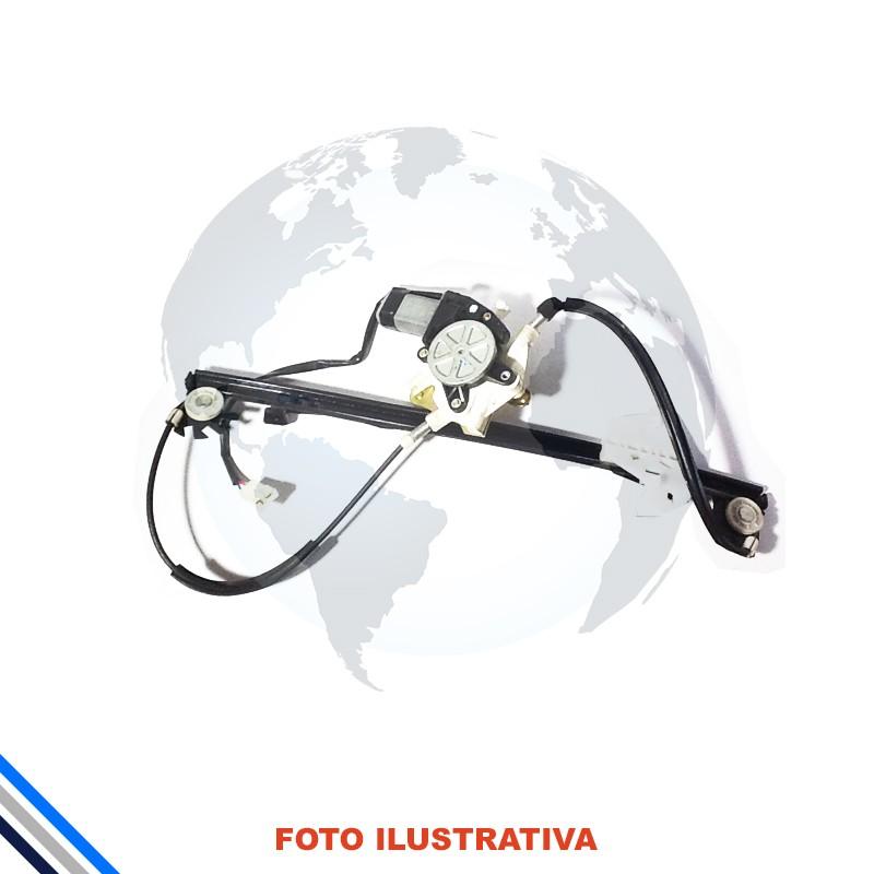 Maquina Vidro Pt Traseira Direita Elet C/mot Fiesta Hatch/sedan 02-14