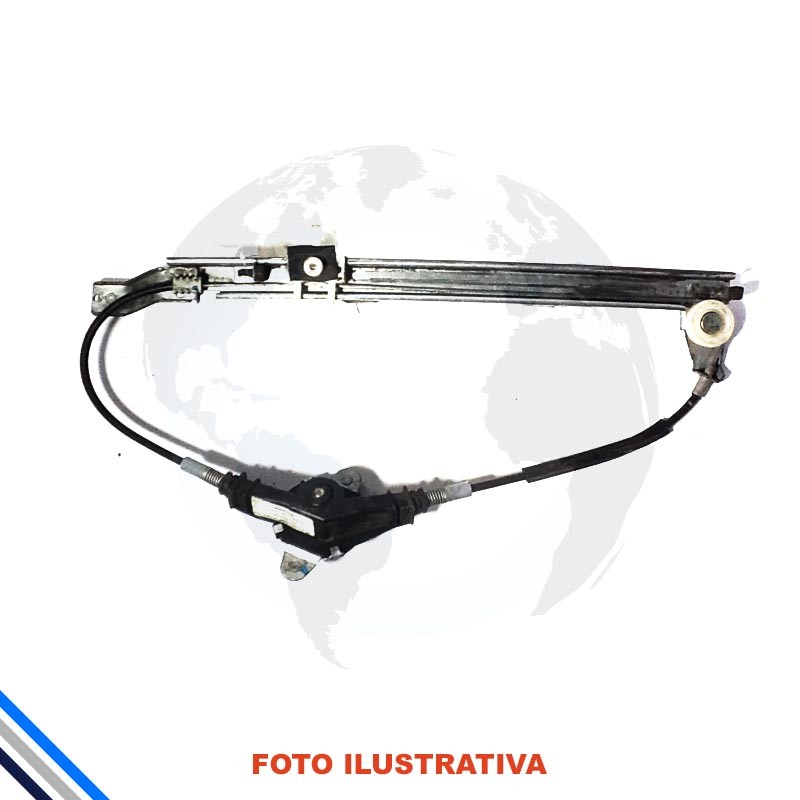 Maquina Vidro Traseira Direita Fiat Palio/Week/Siena 1996-2016