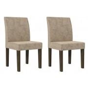 Jogo 2 Cadeiras Europa Noce - RV Moveis