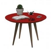 Mesa de Centro Grace Vermelho - Edn Moveis