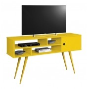 Rack para Tv Kenzo Amarelo - Edn Moveis