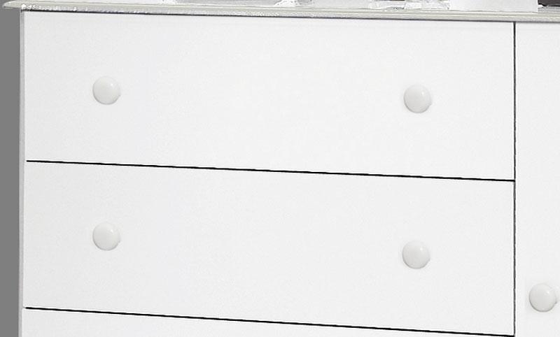 Comoda Veneza Branco - Moveis Primus