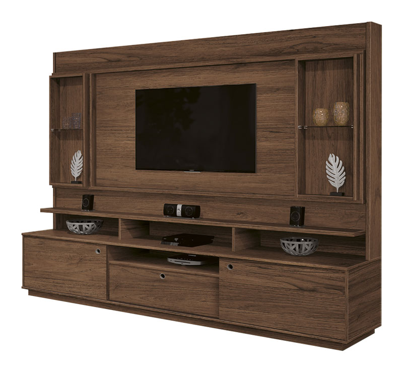 Home Theater Coliseu Rovere Italiano - Edn Moveis