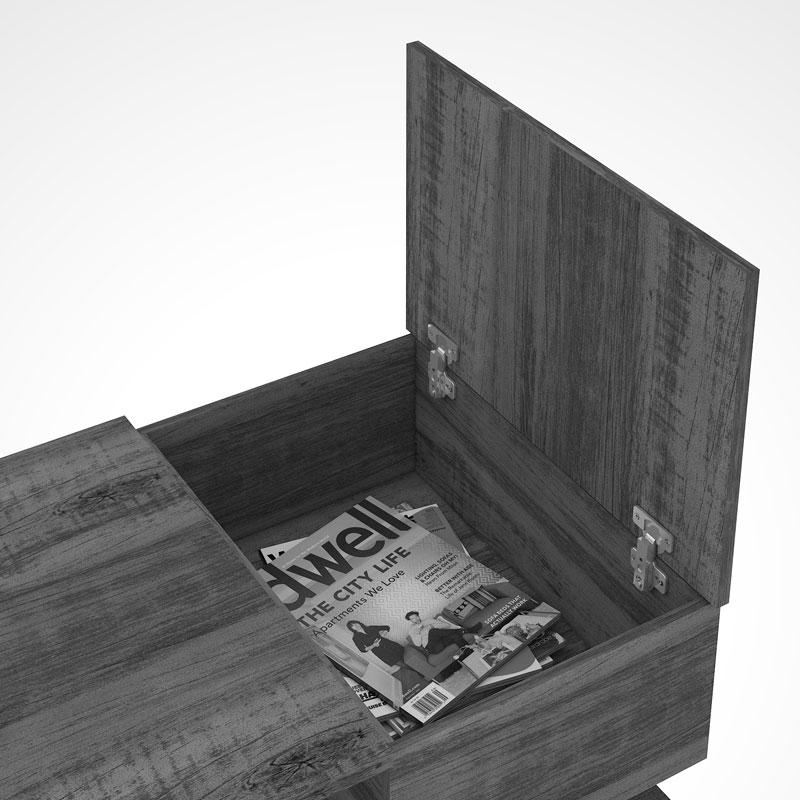 Mesa de Centro Petra Terraro - Mirarack