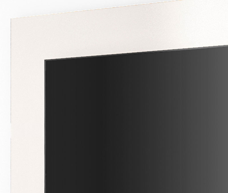 Painel para Tv Refletto Off White - Imcal