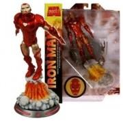 Boneco Homem de Ferro (Iron Man) Voando: Marvel Select - Diamond Select