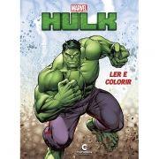 Livro Ler e Colorir Hulk: Marvel - (Médio)