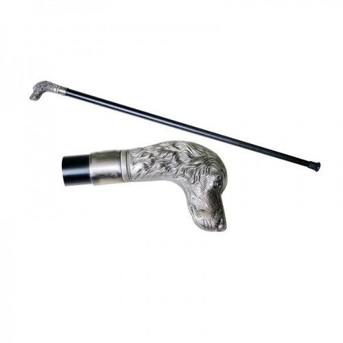 Bengala Espada Adaga Cabeça de Cachorro Bengala 92cm / Espada 40cm