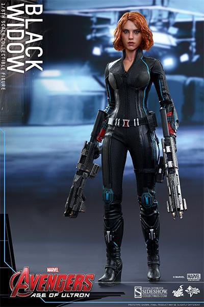 Boneco Viúva Negra (Black Widow): Vingadores: Era de Ultron Escala 1/6 - Hot Toys - CD