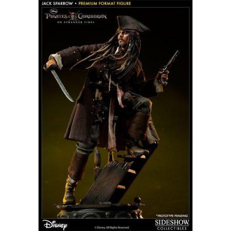 Captain Jack Sparrow Escala 1:4 - Premium Format Figure - Sideshow