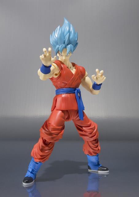Dragon Ball Z Son Goku Super Saiyan God S.H Figuarts - Bandai