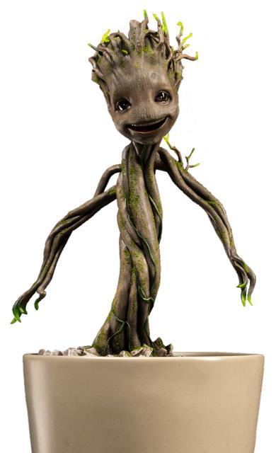 Estátua Little Groot: Guardiões da Galáxia Escala 1/1 Maquete - Toynami - CD