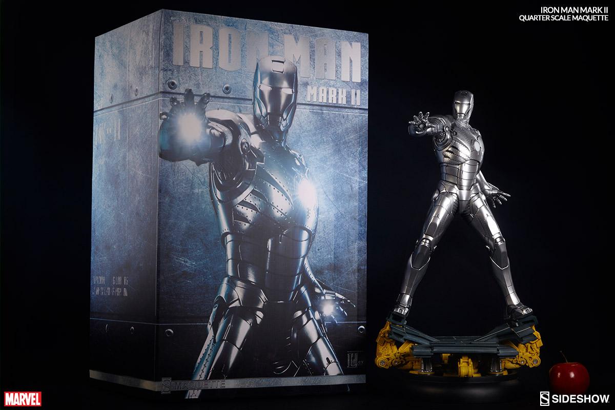 Homem de Ferro Mark II Maquette - Sideshow