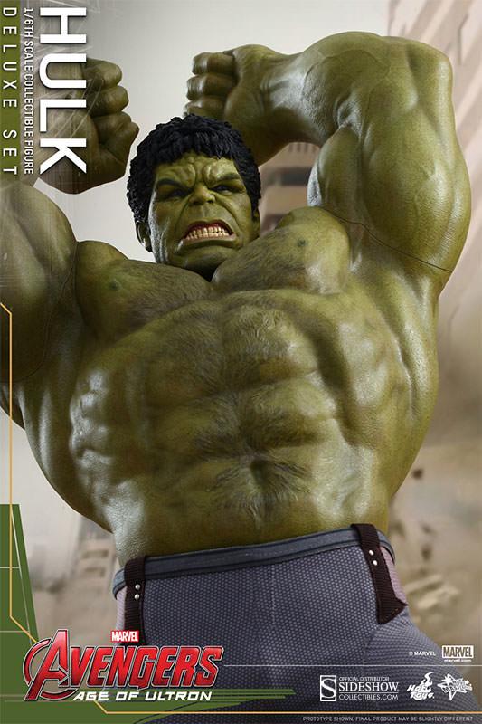 Hulk Age of Ultron Movie Masterpiece Deluxe Set Escala 1/6 - Hot Toys