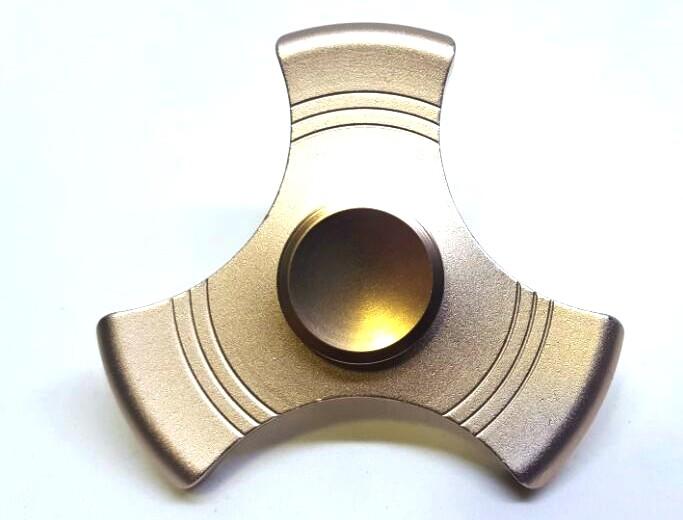 Kit Hand Spinner de Metal Liso Azul / Cobre / Rosa / Preto - Rolamento Anti Estresse Fidget Hand Spinner