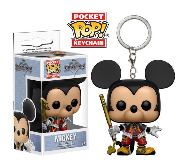 Pocket Pop Keychains (Chaveiro): Mickey: Kingdom Hearts - Funko