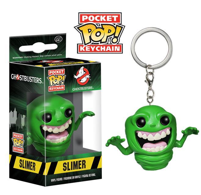 Pocket Pop Keychains (Chaveiro) Slimer (Geleia): Ghostbusters - Funko (Apenas Venda Online)