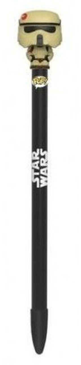 POP! (Caneta) Star Wars Rogue One Pen Toppers: Scarif Stormtrooper - Funko
