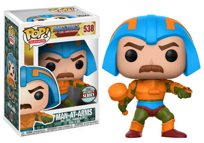 Pop Mentor (Man-At-Arms): Mestres do Universo (Masters Of The Universe) Specialty Series #538 - Funko