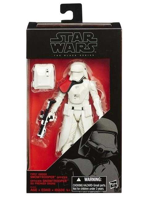 Star Wars Episódio VII The Black Series First Order Snowtrooper Officer - Hasbro
