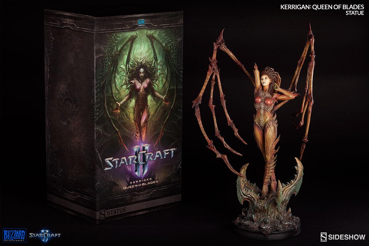 Starcraft Kerrigan Queen of Blades Estátua Escala 1/4 - Sideshow EPP