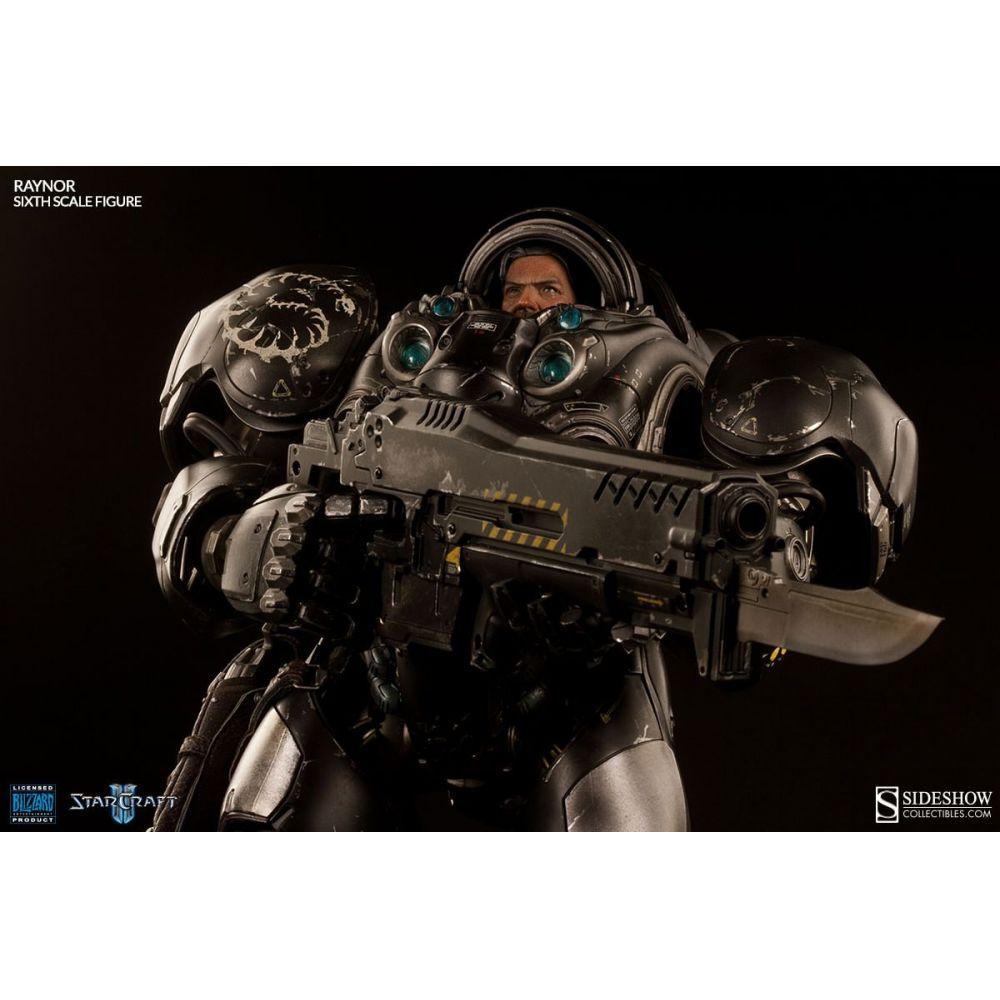 Boneco Raynor: Starcraft Escala 1/6 - Sideshow