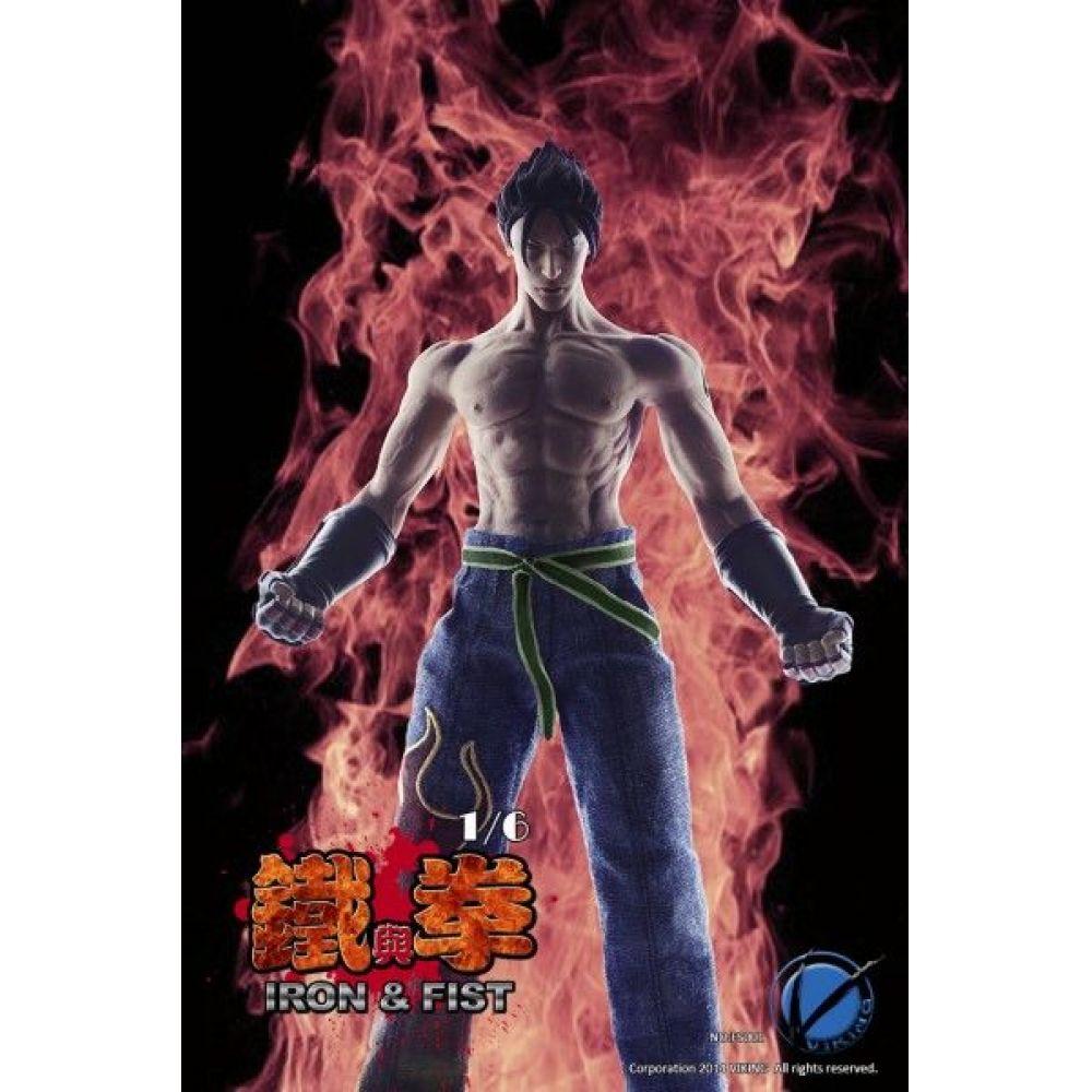 Tekken Jin Kazama King of Combat Escala 1/6 - Viking (Produto Exposto)