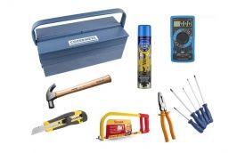 Caixa de ferramentas Essencial para casa - Cofermeta