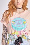 T-shirt Bolo CONGRATS BITCH