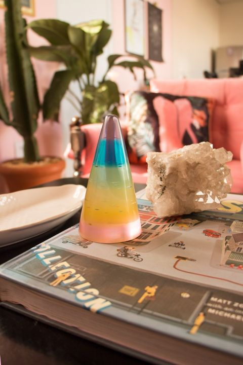 Adorno Decorativo Cone - Rainbow