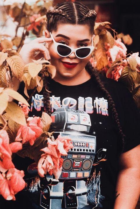 T-shirt PLUS Future Memory ROBÔ
