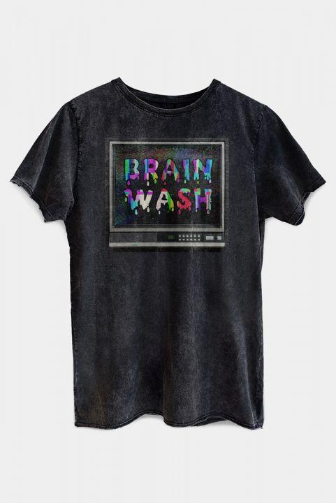 T-shirt PLUS TV Brain Wash