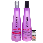 C.Kamura Kit Color Radiant Shine Shampoo  Condicionador - 315ml cada  Superdose Gratis