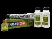 Inoar Kit Color System 7.44 e 8.34 - 2 Coloracoes  2 Ox  Oleo de Argan Gratis