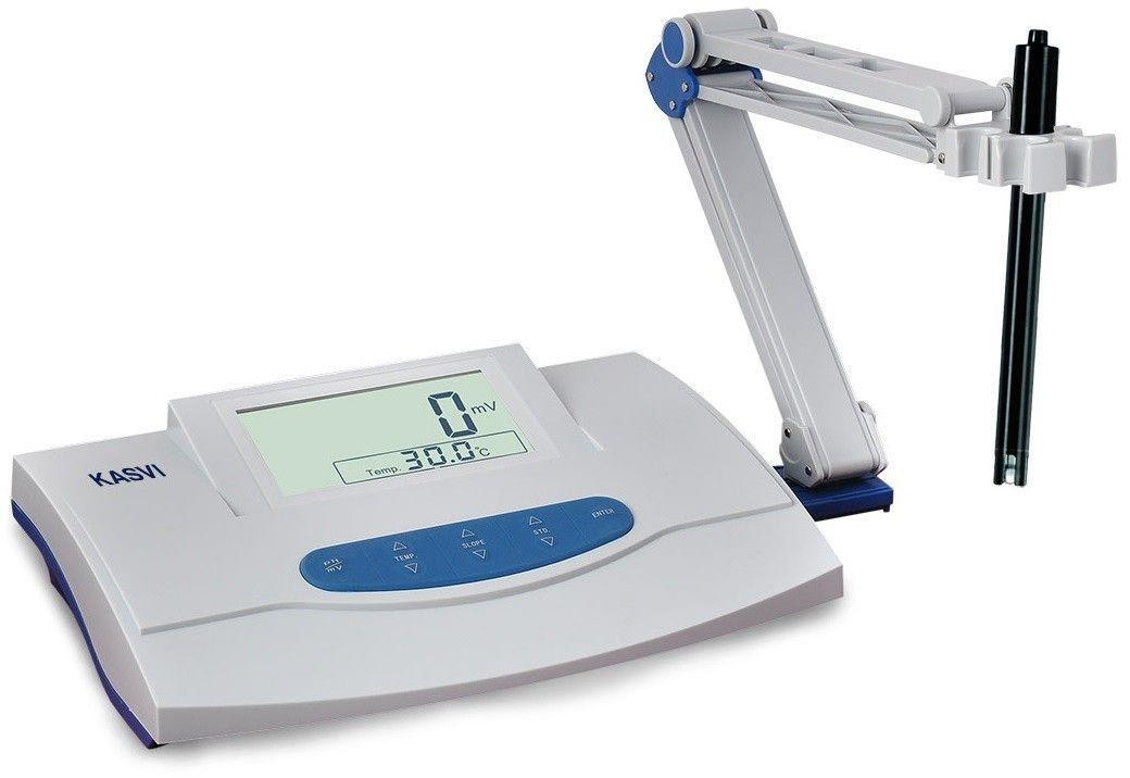 PHMETRO DE BANCADA DIGITAL LCD PH 0-14 COMPLETO  K39-2014 KASVI