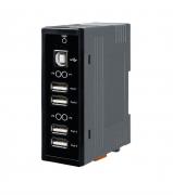 USB-2560 - Hub Usb 2.0 Com 4 Portas, 500Ma Por Porta(Max)