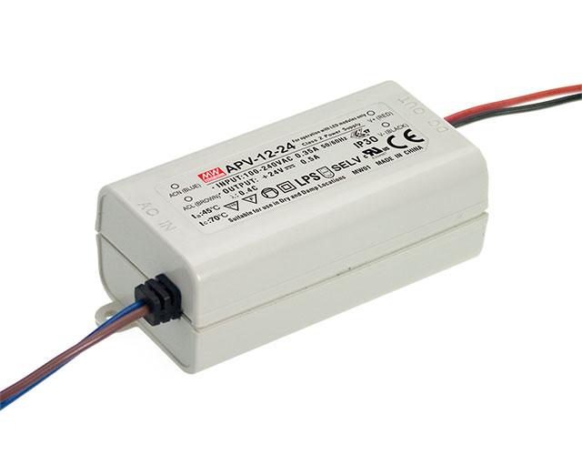 APV-12 - Fonte de Alimentação Chaveada 12Watts para LED