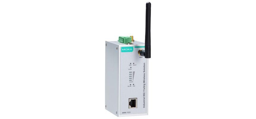 AWK-1121-EU - Wireless Industrial Cliente Ieee 802.11A/B/G, Banda Eu, 1X10/100Base-T(X)