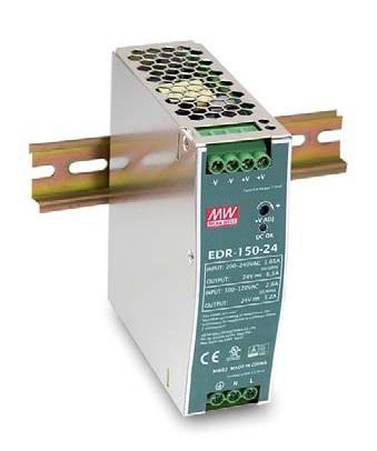 EDR-150 - Fonte de Alimentação Chaveada 150Watts, Trilho DIN
