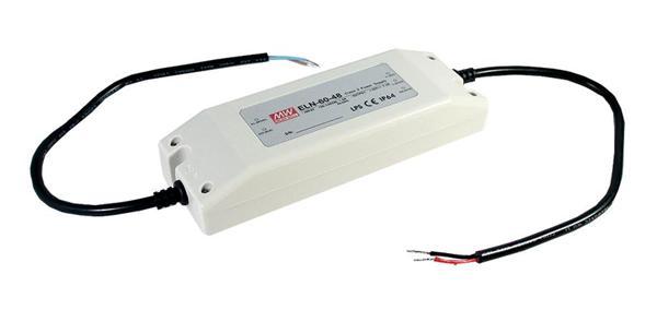 ELN-60 - Fonte de Alimentação Chaveada 60Watts para LED