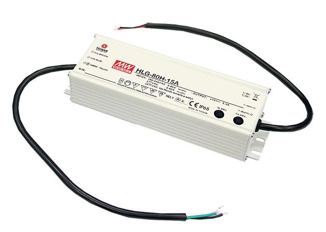 HLG-80H - Fonte de Alimentação Chaveada 80Watts para LED