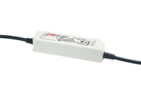 LPF-16D - Fonte de Alimentação Chaveada 16Watts para LED