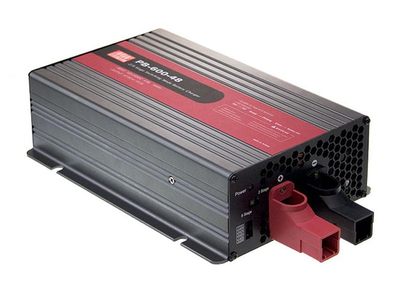 PB-600 - Carregador Industrial de Bateria de 600Watts