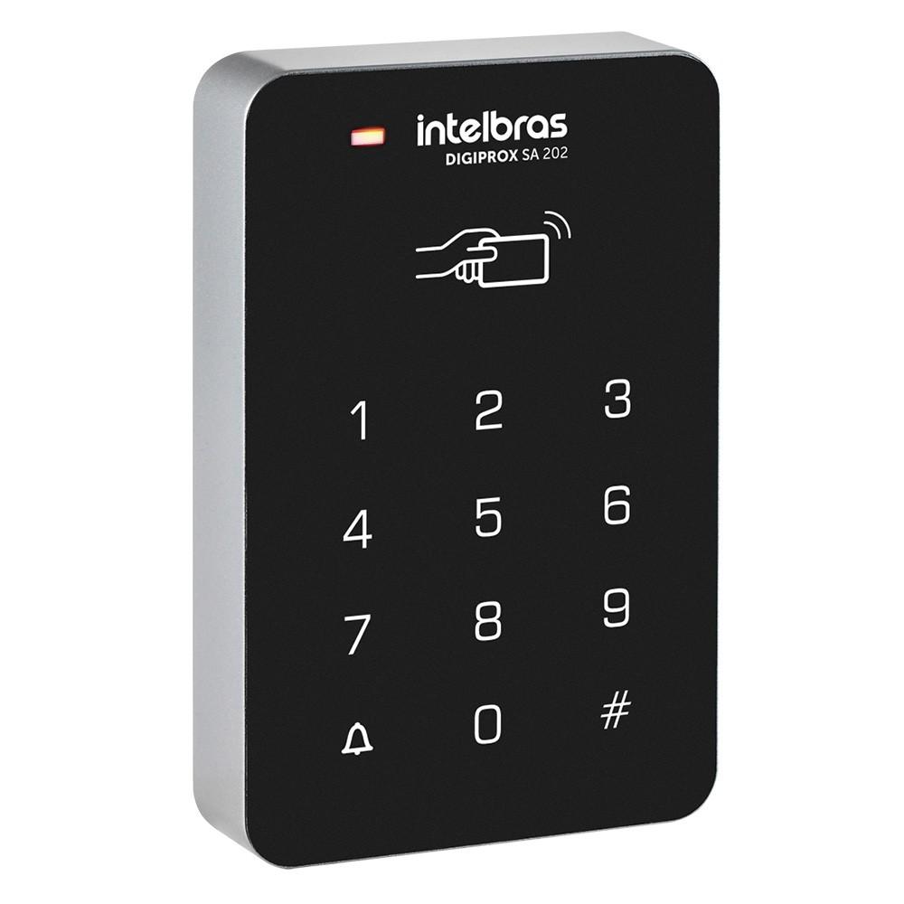 Controle de Acesso Intelbras Digiprox SA 202 - RFID ou Senha  - Ziko Shop