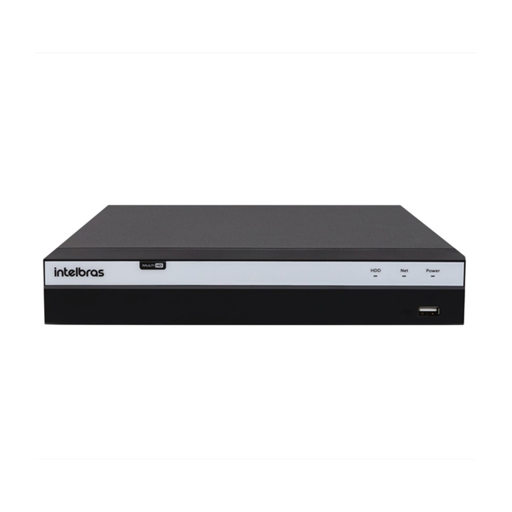 KIT DVR Intelbras MHDX Full HD + 04 Câmeras Infra Full HD 1080p + Acessórios  - Ziko Shop