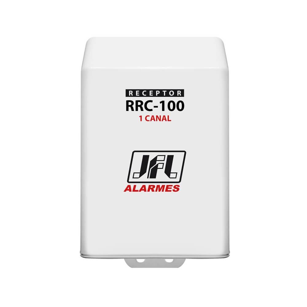 Receptor Programável JFL RRC 100, 433mhz, 1 Canal (Abertura e Fechamento) 100 Metros Sem Obstáculos  - Ziko Shop