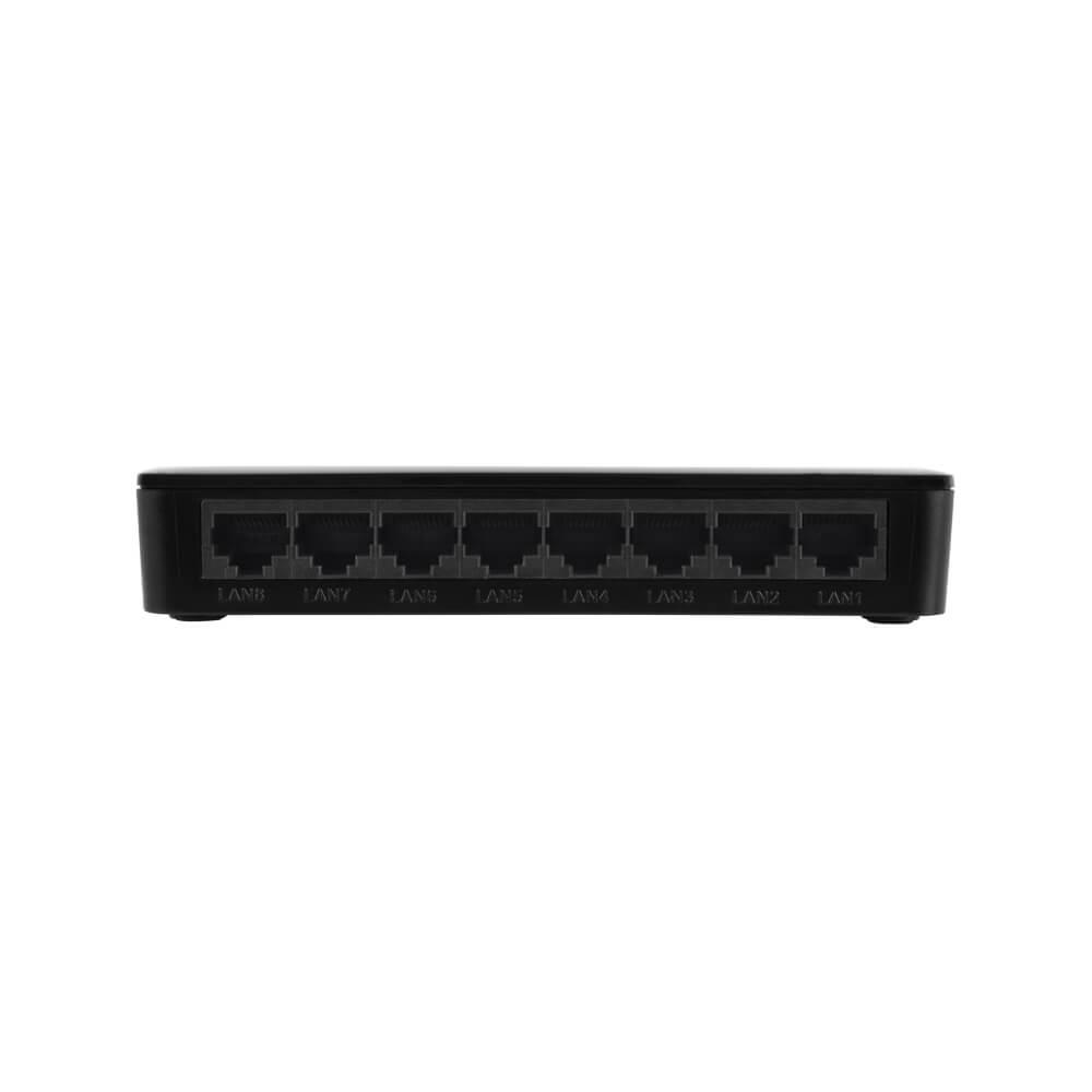 Switch Desktop Intelbras 8 Portas Fast Ethernet Com VLAN Fixa SF 800 VLAN  - Ziko Shop
