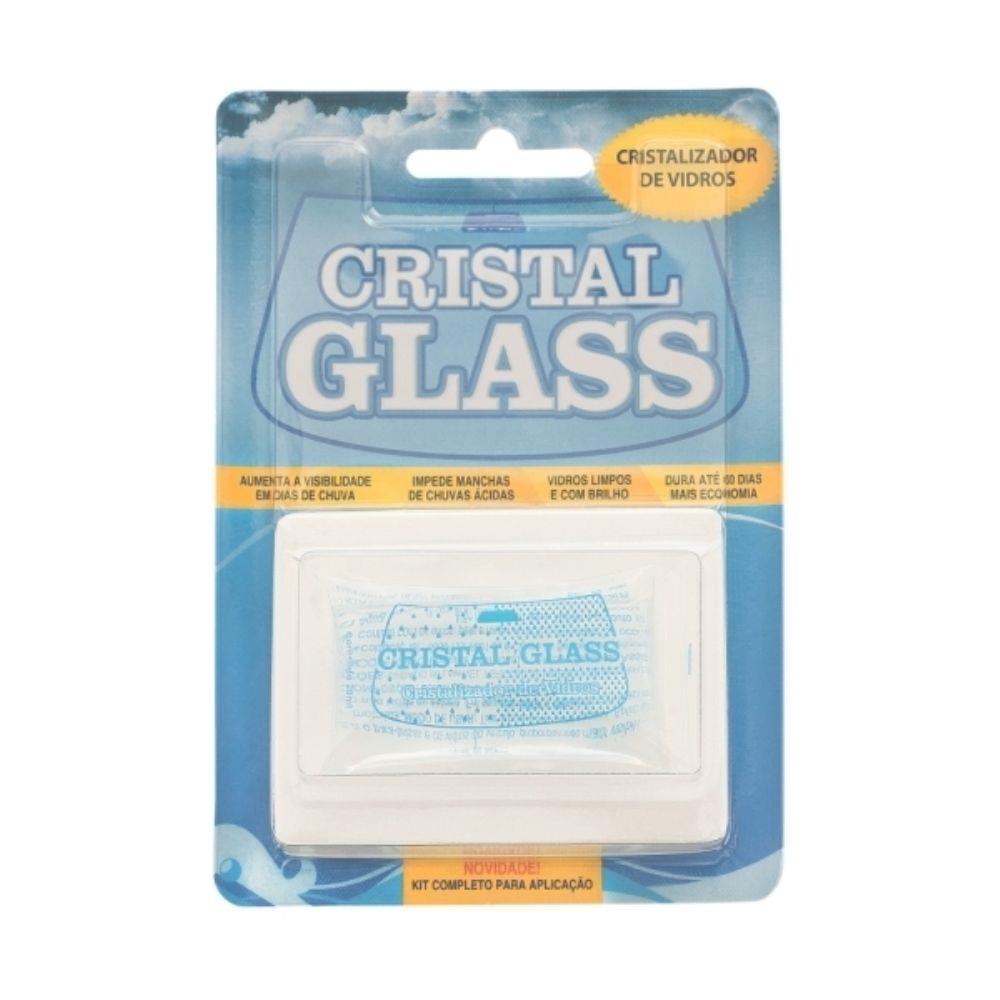 Kit Cristalizador De Vidros Cristal Glass - Point Limp